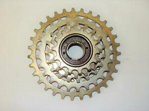 ~ Rare Vintage Shimano 14-31 5 Speed Gold Oro Touring Freewheel - VGC ~