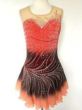 New Figure Ice Skating Baton Twirling Dress Costume Girl Xl