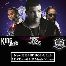 New 2020 Rap Hip-Hop & RnB - 2Dvds Music Videos, Ft Roddy Ricch Pop Smoke Drake