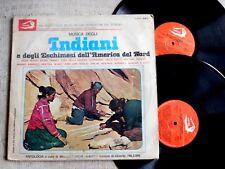 Musica Degli Indiani E Degli Eschimesi Dell'America Del Nord  - -  2 LP