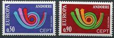 Andorra-franz 247 - 248 postfrisch, Europa