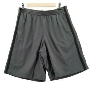 C9 Champion Men's Mesh Shorts-10 Inseam, Railroad Gray/Ebony, Size Large