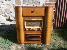 meuble radio , tourne disque