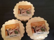 NEW Lot 3 Yankee Candle Warmer Tart Wax Melts Christmas Holiday Treats Scent