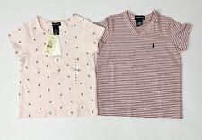 Ralph Lauren Girls T-shirts Age 6 Bundle Pink