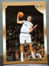 Dirk Nowitzki rookie card 98-99 Topps #154