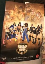 Wwe Legends 4 Demolition Ax Smash Ultimate Warrior 2010 Mattel Promo Poster