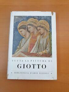 SALVINI 1952 RIZZOLI Tutta La Pittura Di Giotto