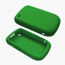 Silicone Skin Case for Blackberry Curve 8520 - Green