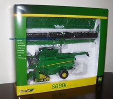 BRITAINS FARM 42845 1/32 SCALE JOHN DEERE S690i COMINE HARVESTER (MIB)