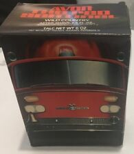Avon Red Sentinel Firetruck After Shave Full Unused Original Box Decals Decanter
