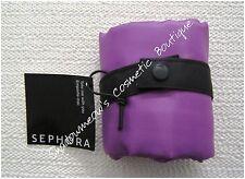 Sephora Roomy Folding Tote Bag Shopper Carry-All NWT Purple Free US Shipping