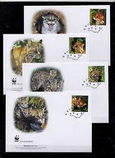 Thailand 2011 - FDC - Dieren / Animals (Wild Cats) WWF/WNF