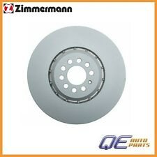 Front Right Disc Brake Rotor Zimmermann 100330875 For: Audi TT Quattro 2004-2006