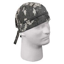 Digital Subdued Urban Grey Gray Camo Camouflage Durag Head Wrap Skull Cap Rothco