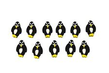 144 Mini Penguin Erasers Gr8 for Classroom Parties ETC!