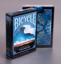 Bicycle-Tsunami Playing Cards (Natural Diasters)