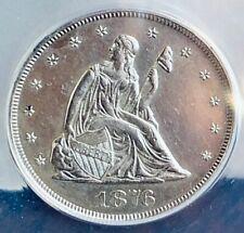 1876 20C Twenty Cent Piece MS60 beautiful luster blast white characteristics