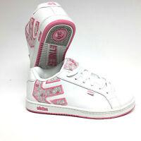 Etnies Kids Fader SMU White/Pink Skaterschuhe Turnschuh Schuh Kinder Gr. 37,5