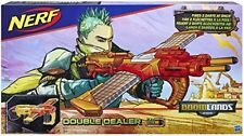 Double Dealer - Fires 2 Darts at Once - Includes 24-Nerf Doomlands Blaster Toy