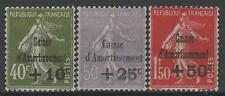 "FRANCE STAMP TIMBRE 275/277 "" CAISSE AMORT. 5e SERIE 1931 "" NEUFS xx LUXE M725"