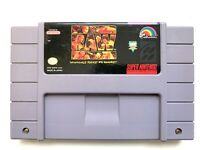 WWF Raw SNES Super Nintendo Game - Tested Working & Authentic!