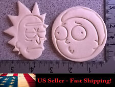 Rick and Morty Novelty Cookie and Fondant Cutter Set - Includes Both Characters