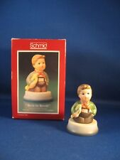 "Schmid-""Hark the Herald"" 1984 First Annual Statuette Thimble With Box"