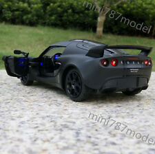 Lotus EXIGE SCURA 2009 1:26 Model Cars Matte black Collection&gift Alloy Diecast