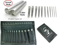 Insertion Taper 13pc Set 18g-00g 1mm-10mm Expanders(e1)