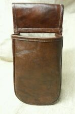 Brown real leather Cartridge pouch holds a 100+ 12g shotgun cartridges.
