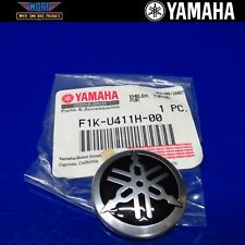 OEM YAMAHA TUNING FORK RAISED EMBLEM STICKER DECAL VX1100 FX HO F1K-U411H-00-00