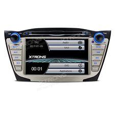 "AUTORADIO 7"" Hyundai Ix 35 Tucson Navigatore Gps Dvd Usb Sd Comandi Volante Mp3"