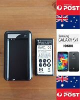 Samsung Galaxy S5 I9500 Black Charger Dock Kit, Includes Battery -Local Brisbane