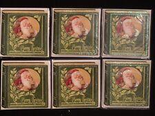 Santa Christmas Dreams PopShots 3D Pop-Up Holiday Card Lot of 6 Pop Shots New