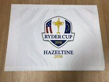 Ryder Cup 2016 Hazeltine Pin Flag Brand New Golf Flag 🇺🇸🇪🇺🏆
