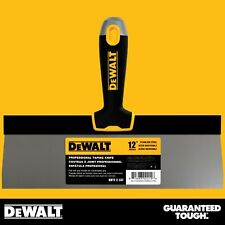 "DEWALT Taping Knife 12"" Stainless Steel Drywall Taping Tool Lifetime Warranty"