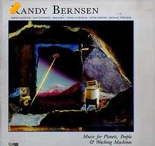 RANDY BERNSEN Music for Planets People & Washing Machines LP EXCELLENT