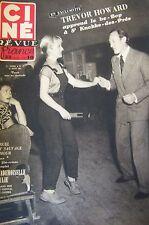 CINEMA CINE REVUE N° 32 de 1951 HOWARD BE BOP DIETRICH FRESNAY BLYTH STEVENS