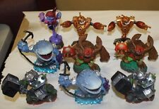 XBOX 360 SKYLANDERS LOT 3 GAMES 44 FIGURES PORTAL GAME CASE FREE SHIPPING