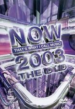 Various Artists Now - 2003 Music Video Concert -S Club 7 New Sealed Region 2 DVD