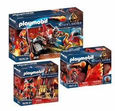 Playmobil Novelmore Kampftraining Drache Feuergeist Hüterin Feuermeister Set NEU