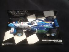 Minichamps - voiture Benetton Renault B196 - G. Berger