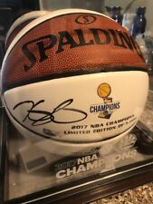 Limited edition! Golden State Warriors 2017 MVP Durant signed basketball w/COA