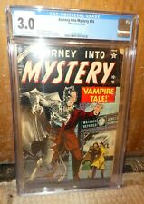 Atlas Marvel comics Journey into Mystery 16 CGC 3.0 Classic Vampire Cover