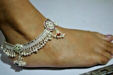 Anklet Wedding Women Fashionable Jewelry Indian 925 Silver Plated Traditional