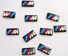 10 x Felgen Tacho Lenkrad 3D Emblem Auto Car Sticker Aufkleber für BMW M3 M5 M6