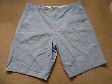 "Marks & spencer men`s blue shorts  waist size 40"""