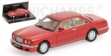 MINICHAMPS 1996 BENTLEY CONTINENTAL R COUPE 2-DOOR Red Metallic 1:43**New!