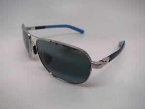 Authentic Maui Jim Guardrails MJ 327-17 Grey/Blue & Silver Sunglasses